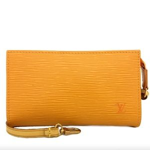 Like-New Louis Vuitton Epi Leather 3 Way Bag/Pouch